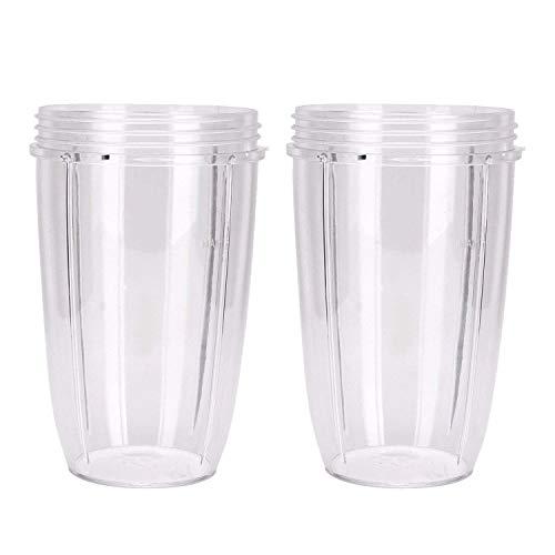 Cikuso pour Tasses de Rechange Nutri (Grandes - 24 Fois) | Pièces de Rechange et Accessoires de Qualité Supérieure (Un Paquet de 2)