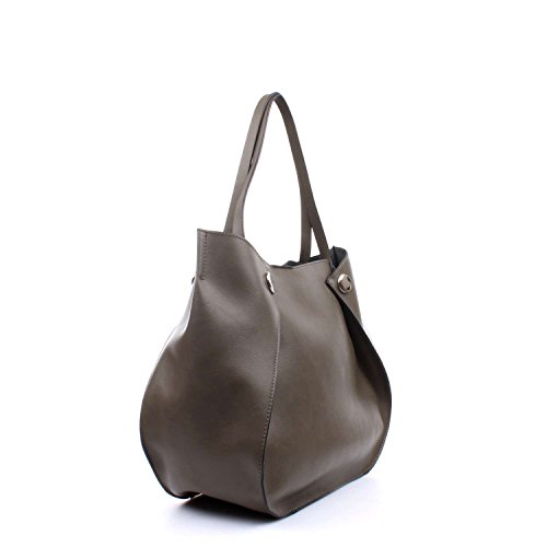 Indovina Damen Hwvg6783230 Shopper, Oliva 13x22,5x28,5 Cm