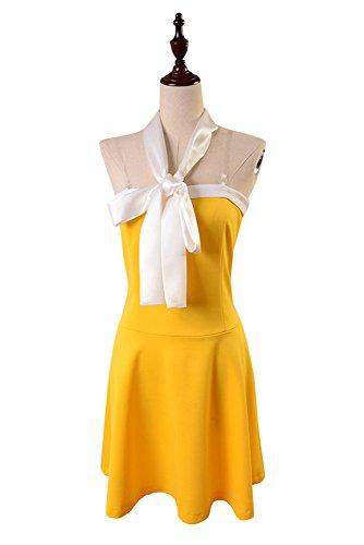 rden Kleid Cosplay Kostüm Damen M (Orange Fairy Kleid)