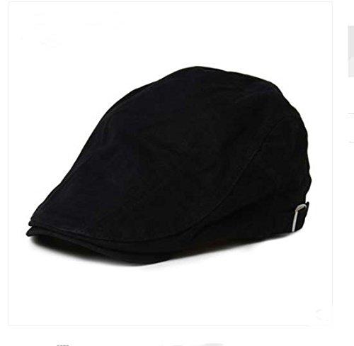 Da uomo Gentry cotone moda berretto piatto & # xFF0C; Cabbie cappello & # xFF0C; Gatsby Ivy berretto, caccia, Newsboy cappello con cinghia regolabile