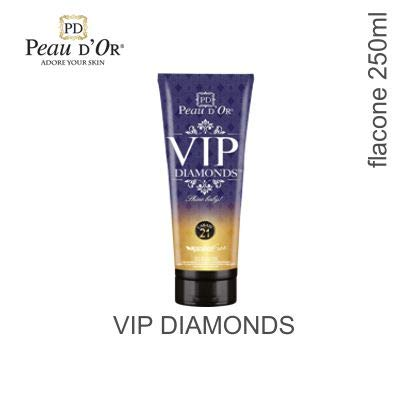Peau D'Or - VIP Diamonds 21 Carati - Lozione Abbronzante 250ml (250ml)