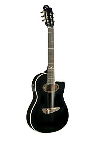EKO guitarras 06217035NXT Serie Guitarra Electroacústica clásica, negro