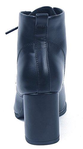 Bottes A Femme Mode Lacets Hiver Cheville Shoes Bottines Noir qwxg1qOAT