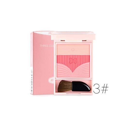 Ofanyia Natural Blush Baked Powder Erröten Make-up Kosmetik-Palette Schöne Wangenfarbe Gesicht erröten -