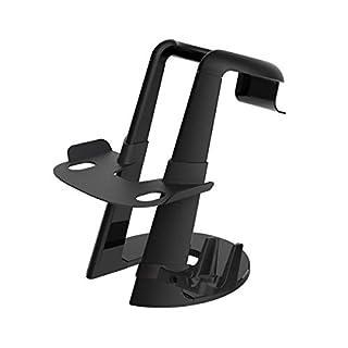 AFAITH Vertikaler Standfuß VR Headset Halter für Oculus Go Display Brille Headset Ständer Halterung Unterstützung Oculus Rift, HTC Vive, Sony Playstation VR Videospiel (VR Nicht enthalten)