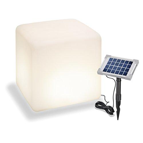LED-Solar-Würfelleuchte  <strong>Länge</strong>   30 cm