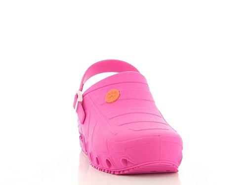 Safety Jogger professionnelle Chaussures Oxypas oxyclog Chaussures de travail, sabots mixte adulte Fuchsia