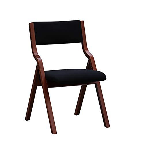Esszimmerstühle YXX Klappbarer Holz für Küche, Wohnzimmer Gepolsterte Armlehnstühle, 19,1 x 16,7...