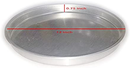 Prime Enterprises Aluminium Pizza Plate/Pizza Pan - 12 inches