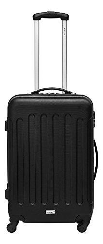Packenger Reisekofferset Travelstar 3er-Set (Schwarz) - 3