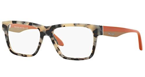 Prada Für Frau 16r White Tortoise Kunststoffgestell Brillen, 53mm