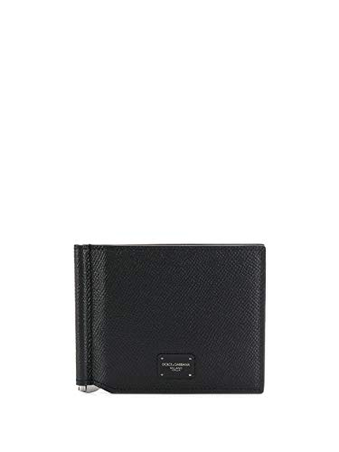 DOLCE E GABBANA Herren Bp1920az60280999 Schwarz Leder Brieftaschen
