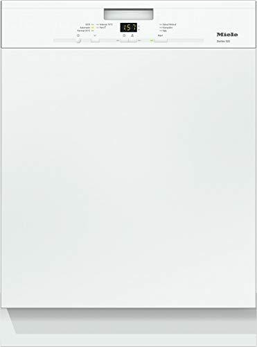 Miele G 4943 i Series 120 Geschirrspüler teilintegriert mit Besteckkorb / A+++ / 234 kWh / AutoOpen-Trocknung / 13 Maßgedecke / Brillantweiß / 45 dB / 5 Spülprogramme