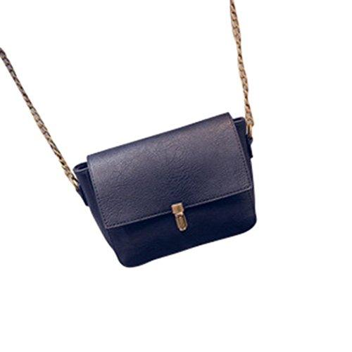 Donne Retro borsa di modo Tracolla Grande borsa Tote signore,Fami nero