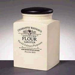 Charlotte watson grand pot farine carr for Maison classique emporium