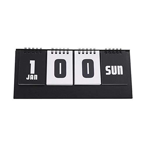 Zaote Tischkalender 2019 Kalender Countdown Stand Desk Desk Wandkalender (Stand Kalender)