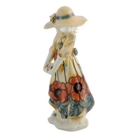 Old Tupton Ware Lady - Yellow Poppy Design Susie Lady Figurine (Tw1645)