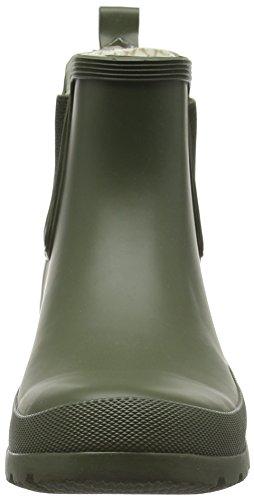 ROMIKA Romirub 10, Bottes en caoutchouc non-fourrées, tige basse femme Vert - Grün (oliv 616)