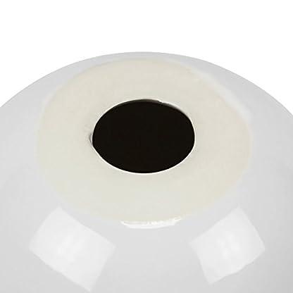 XL-Keramik-Moderne-Deko-Kugel-Tischdeko-D-15-cm-Gren-wei-glnzend-Ball