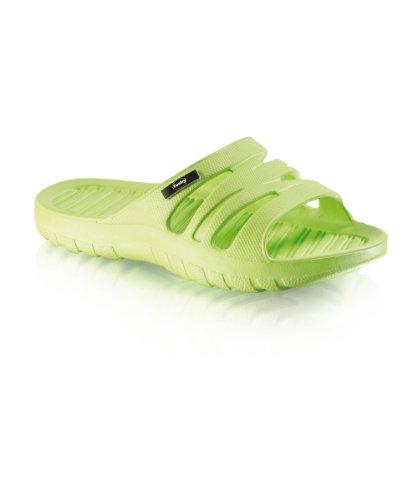Fashy Kinder Ultraleicht-Pantolette, hellgrün, Größe 30