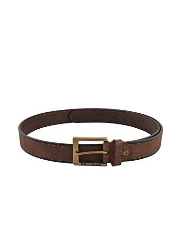 Woodland Mens Brown Leather Belt