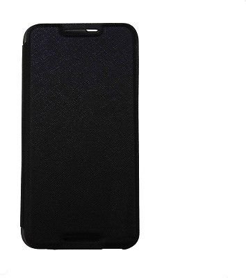 ECellStreet Executive Leather Flip Cover Diary Folio Flap Case For Lava x1 atom 2- Black  available at amazon for Rs.154