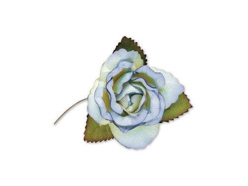 paper-roses-blue-45-cm-12-pieces-craft-product-unique