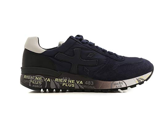 4ee67f4e7b Premiata Mick Sneakers da Uomo Blu Nuovo | Offerta