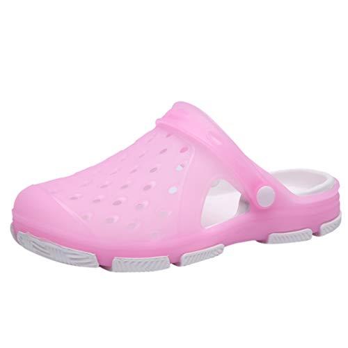 Vovotrade Unisex-Erwachsene U Clogs & Pantoletten Blau, Pink, Pink, Schwarz 36-41 -