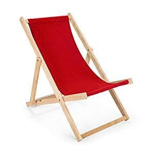 Amazinggirl Liegestuhl Sonnenliege zusammenklappbar Auflage, Strandliege Liege Camping schön Deco gartenliege Outdoor Liege Relaxlieg (Rot)