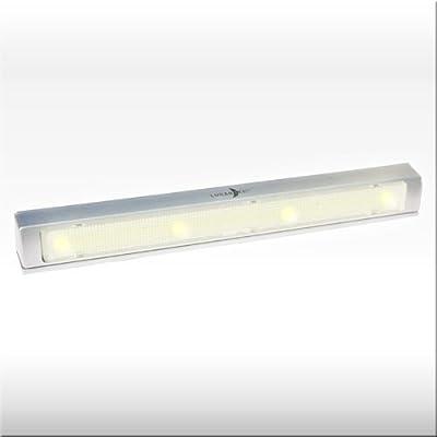 Batterieleuchte 'WARM LIGHT' mit Klebepads - Kabellose LED Lichtleiste: Die universelle Anbauleuchte mit verzögerter Abschaltung!