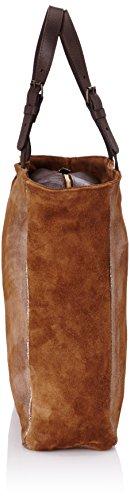 C.oui Vincennes 5, Damen Tote Bag, Taglia Unica Braun - Marrone (taupe)