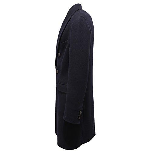 ... 0510V cappotto uomo HEVO  ADELFIA SLIM blue jacket coat men  50  ... 528f751cd08