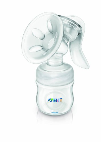 Philips Avent SCF330/20 Natural Comfort Breast Pump & Bottle 31ltufVbS7L