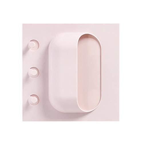 eber Wandbehang Rack-Durchschlags-Free Sticky-Speicher-Organisator für Badezimmer Küche 3 Löcher ()