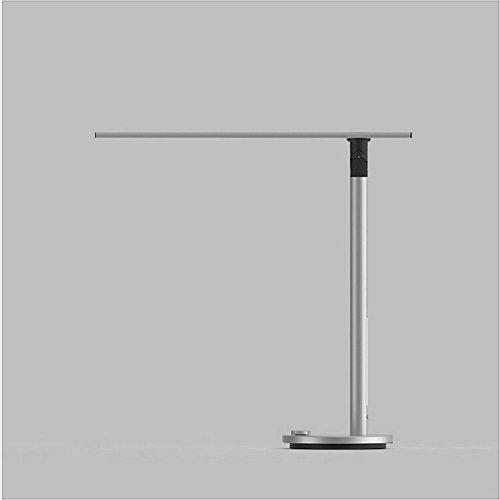 OOFAY LIGHT® Schreibtischlampe Flexible LED Dimmbare Tischlampen Touch Eye-Care-Licht Mit 3 Lichtmodi Lesen Studie Arbeiten Silber 8.5W