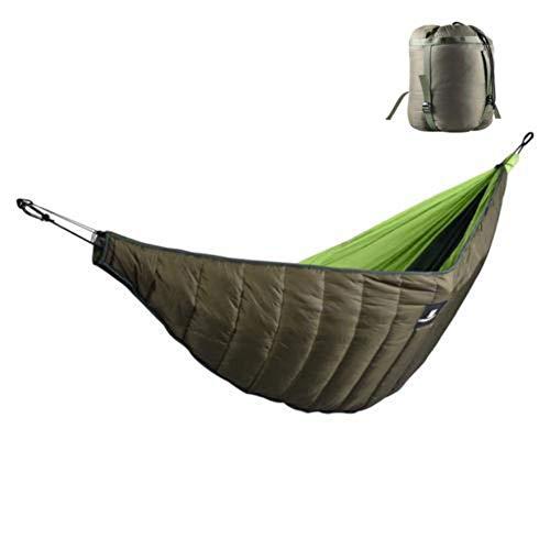 Besteffie Underquilt de hamac, lit de Camping légère, compacte Sac de Couchage Hiver Longueur complète sous Couverture