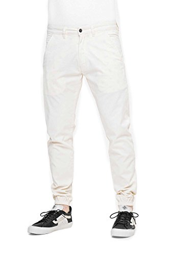 REELL Pant Jogger Pant Artikel-Nr.1100 - 1037 Antique White