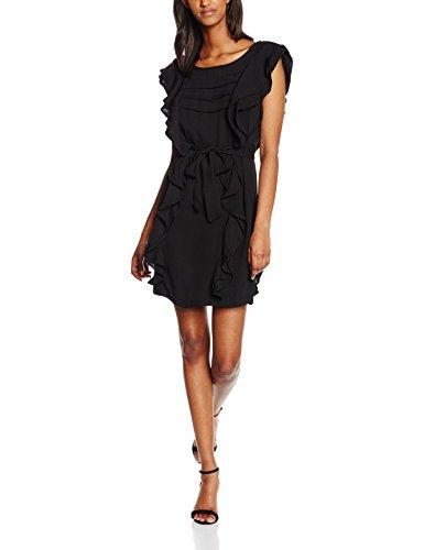 Morgan Rces - Robe - Uni - Sans manche - Femme Noir