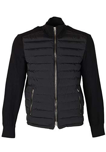 CL - Tom Ford Black James Bond Spectre Knitted Sleeve Bomber Jacket Size 48 / 38R U.S.