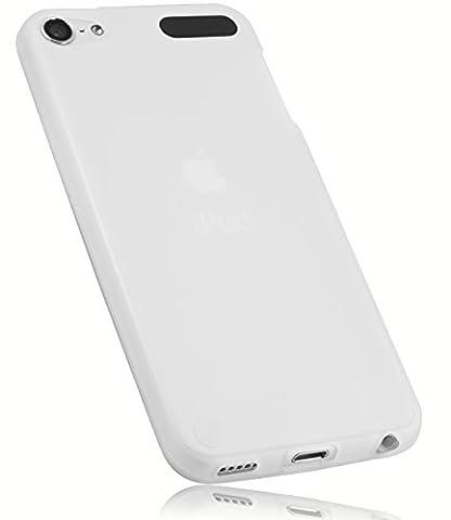 mumbi TPU Silikon Hülle für iPod Touch 5G / 6G Schutzhülle (5 / 6 Generation) transparent weiß