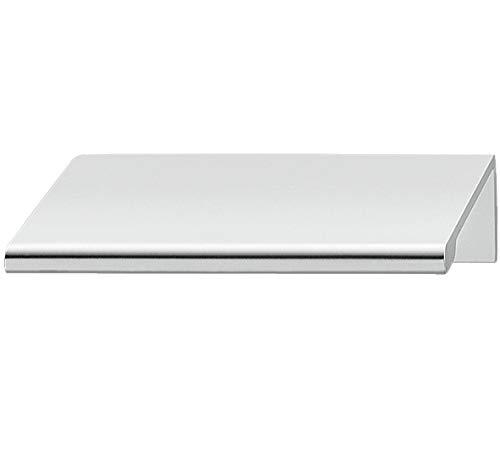 Gedotec Schubladen-Griff Sideboard Möbel-Griff eckig Kasten-Griff Küche - H2034 | Alu chrom poliert | 70 x 42 x 50 mm | 1 Stück