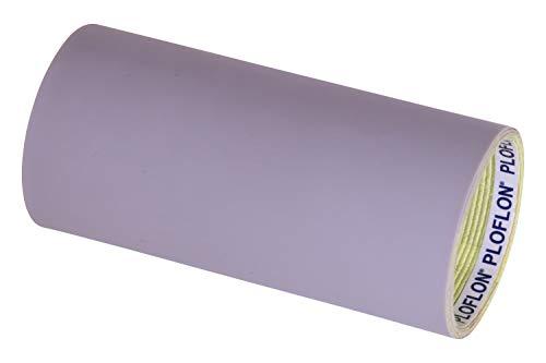 PLOFLON PTFE Teflon Klebeband, Teflonband, PTFE Band, Breite 250mm, Länge 1000mm, Gesamtstärke 0,600mm, antihaftende Oberfläche, Teflonklebeband, Hitzebeständigkeit bis 260 Grad Celsius. (Ptfe-teflon-band)