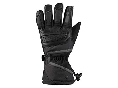 IXS VAIL 3.0 ST - Guanti invernali da moto, da uomo, in tessuto e pelle, colore: nero