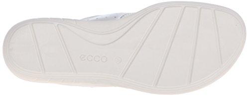 Ecco Ecco Bluma Sandal, Tongs femme Blanc - Weiß (WHITE02007)