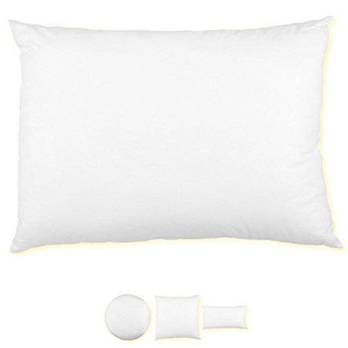 Füllkissen Kissenfüllung Kissen, Polyester und Federfüllung über 30 Varianten, Auswahl: Polyesterfüllung in der Größe 50x70cm