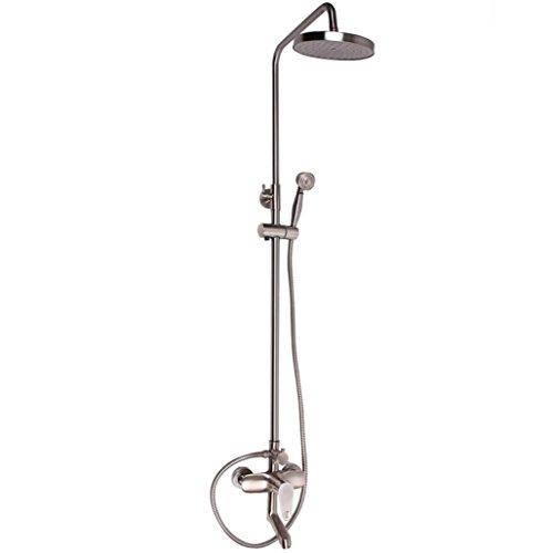 Preisvergleich Produktbild BLYC- Antike Messing Wandhalterung Badezimmer Duschsystem mit Massage Sprays