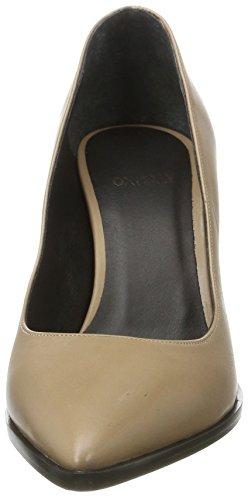 Oxitaly - Shally 100, Scarpe col tacco Donna Beige (Corda)