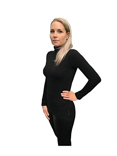 Marc O`Polo Core Damen Rolli schwarz (Outfit Matrix)