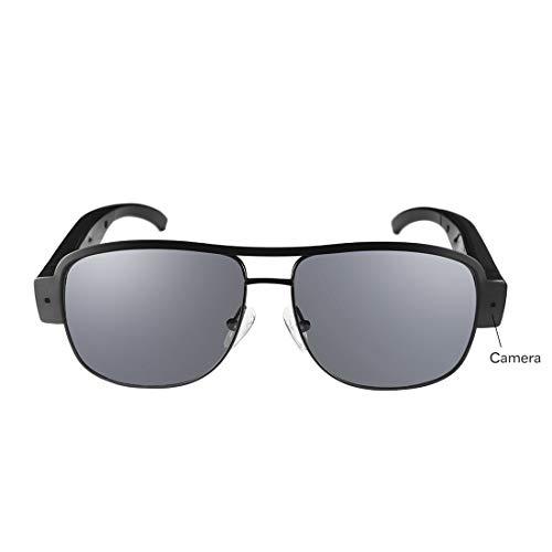 Spion Mini wasserdichte Video-Sonnenbrille 1080P HD versteckter Kamerarecorder Video DV DVR Recorder, Unisex Sport Design